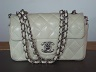 Mini Sac Chanel cuir blanc 14 cm Chanel