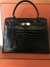 Kelly 28 cm crocodile Hermes