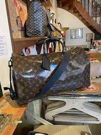 Sac Louis Vuitton Keepall glaze  Louis Vuitton