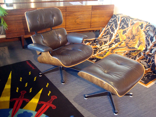 Charles Eames Lounge Chair  occasion, en vente Ile Saint Louis - Paris