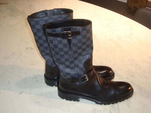 Louis Vuitton Bottes occasion, en vente Ile Saint Louis , Paris