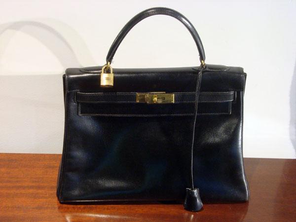 Cuir Noir32 Hermès En Box Kelly Et Occasion Sac CmClefs 7Ybvf6gy