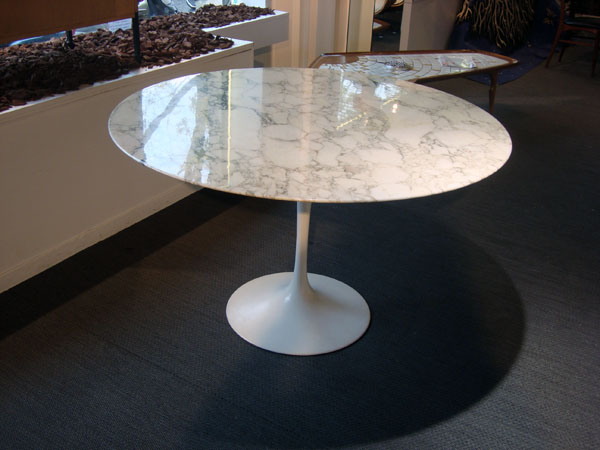 table tulipe eero saarinen knoll occasion table tulipe On table knoll occasion