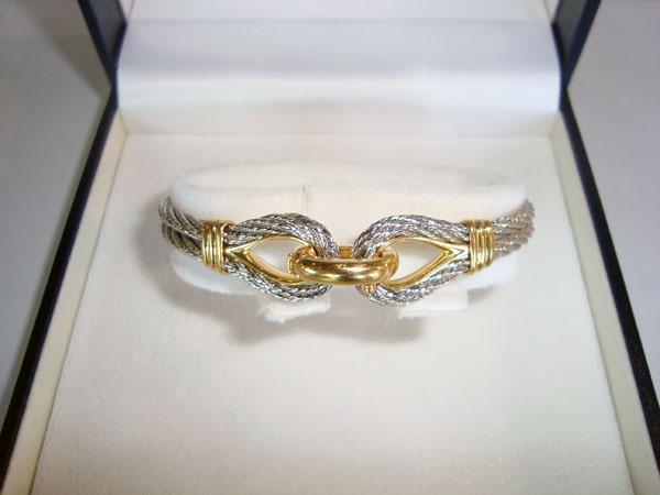 bracelet force 10 fred occasion bracelet force 10 en or jaune 18k et acier poids 16 5 g avec. Black Bedroom Furniture Sets. Home Design Ideas