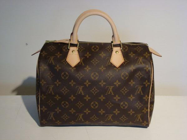 Speedy 30 Louis Vuitton occasion Speedy 30 cm en toile ...