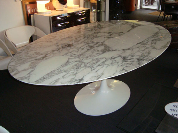 table saarinen knoll occasion table de lit a roulettes