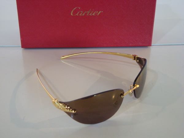 Cartier Lunettes de soleil occasion, en vente Ile Saint Louis - Paris d04f8963c526