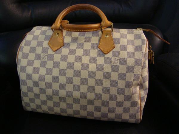 Louis Vuitton Sac Speedy Damier Azur 30 cm occasion, en vente Ile Saint  Louis - e3883a2383c