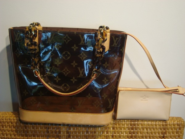 f24afbc526b Cabas monogram ambre Louis Vuitton occasion Cabas Louis Vuitton ...