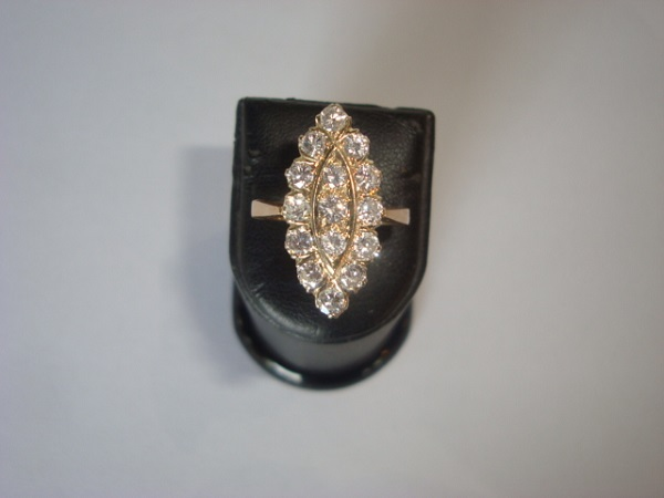 Bague Marquise occasion, en vente Ile Saint Louis - Paris