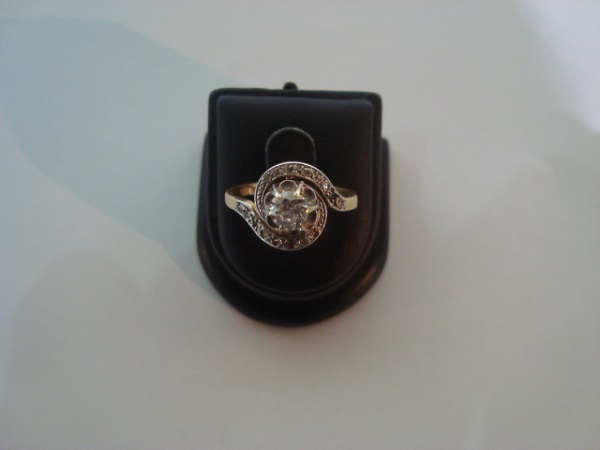 Bague tourbillon occasion, en vente Ile Saint Louis - Paris