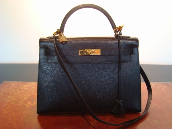 Hermes Sac Hermes Kelly sellier 32 cm occasion, en vente Ile Saint Louis - Paris