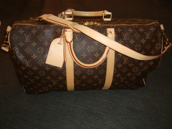 Louis Vuitton Sac Louis Vuitton Keepall bandouliere monogram 50 cm occasion,  en vente Ile Saint 665fe37d81d