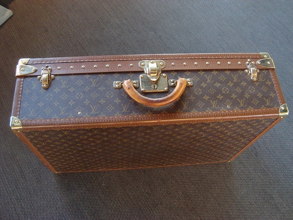 Louis Vuitton Valise Alzer 75cm occasion, en vente Ile Saint Louis - Paris