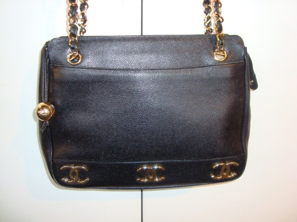 Chanel Sac Chanel Cuir noir occasion, en vente Ile Saint Louis - Paris 6079774dedf