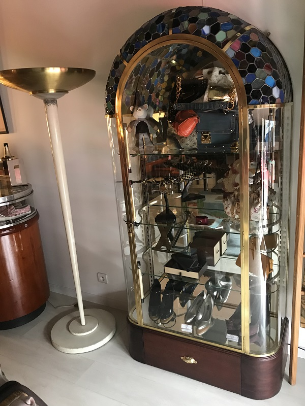 Vitrine Art Deco Siegel  occasion, en vente Ile Saint Louis - Paris
