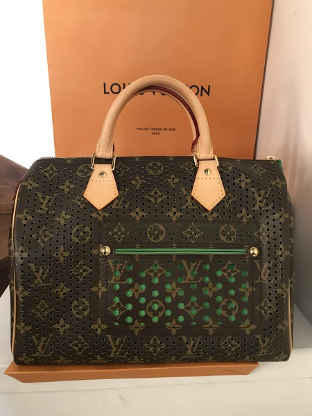 Louis Vuitton Speedy perforation  occasion, en vente Ile Saint Louis - Paris