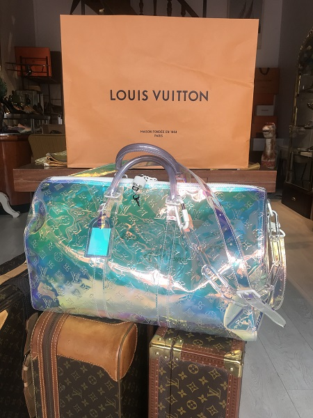 Louis Vuitton  Keepall Prism Virgil Abloh occasion, en vente Ile Saint Louis - Paris