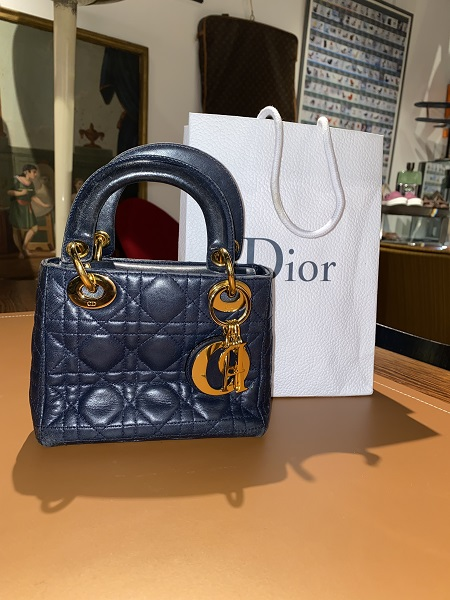 Dior  Sac Lady Dior mini    occasion, en vente Ile Saint Louis - Paris