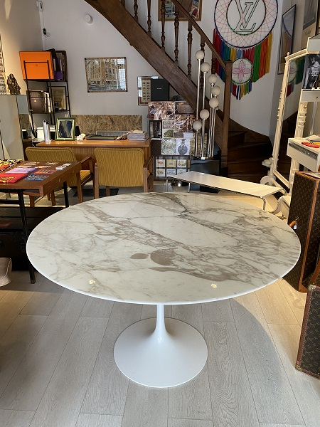 Table Knoll Eero Saarinen  occasion, en vente Ile Saint Louis - Paris